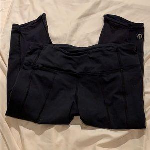 lululemon athletica Pants - Lululemon Black Workout Leggings